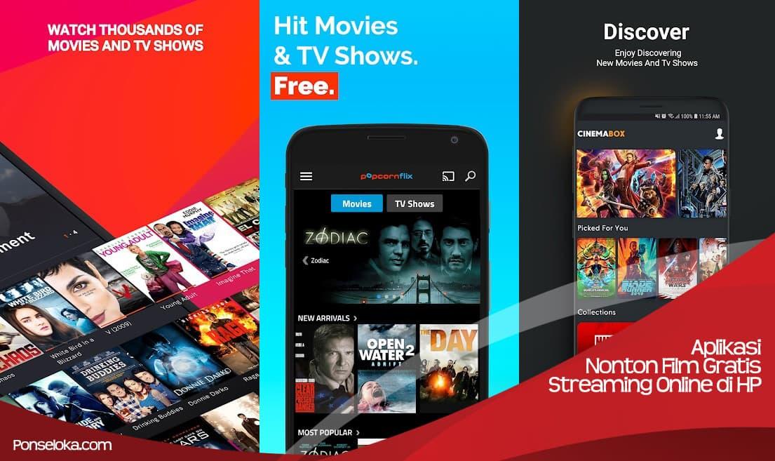 Aplikasi Nonton Film Gratis Untuk Streaming