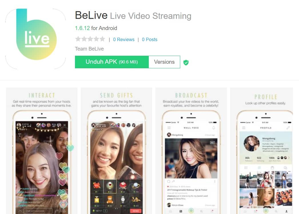 Aplikasi China Live Mod