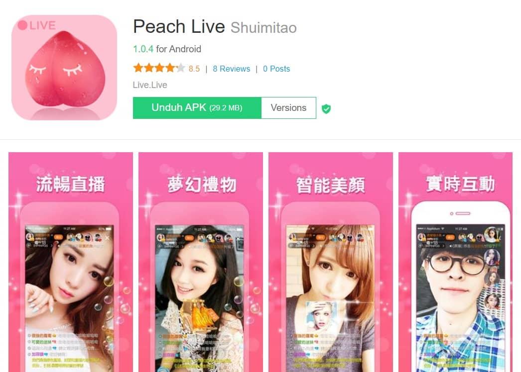 Peach Live Shuimitao