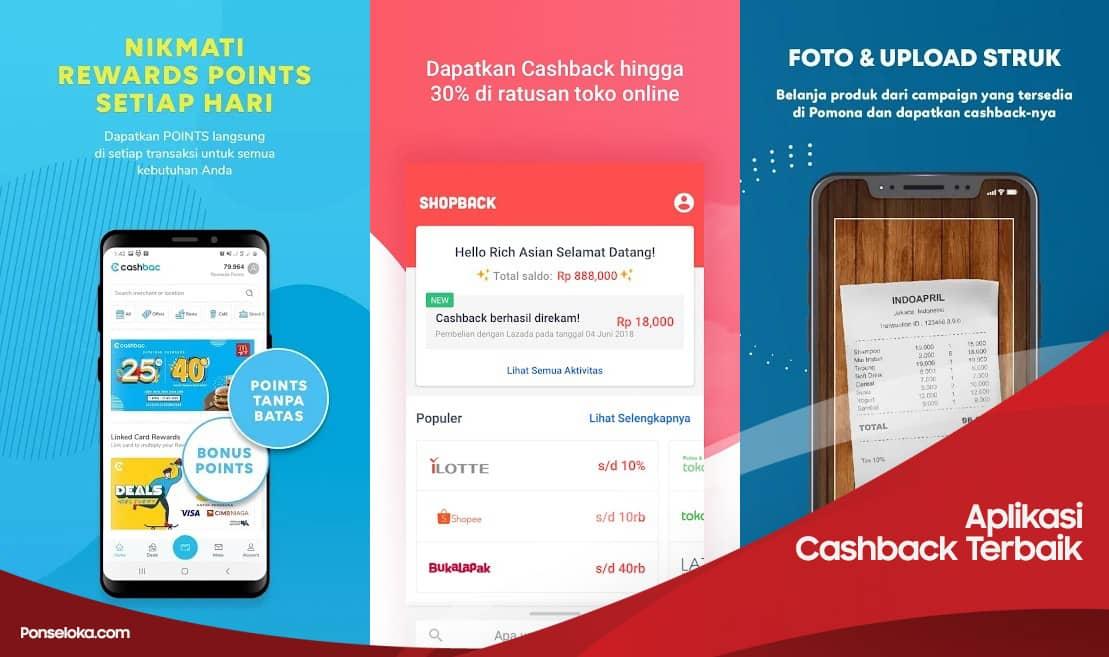 Aplikasi Cashback Terbaik